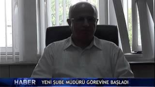 Yeni �ube m�d�r� g�revine ba�lad� ! (V�DEO)