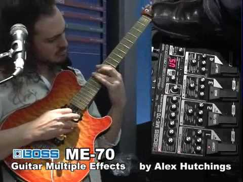 Alex Hutchings demonstrates the BOSS ME-70 at Musikmesse '09