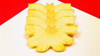 How to Make a Butterfly with a Pineapple / Tips, Tricks, Party Ideas, Food Art