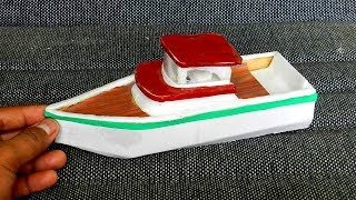 DIY Cardboard Boat Toys Crafts for Kids | Easy Miniature Project