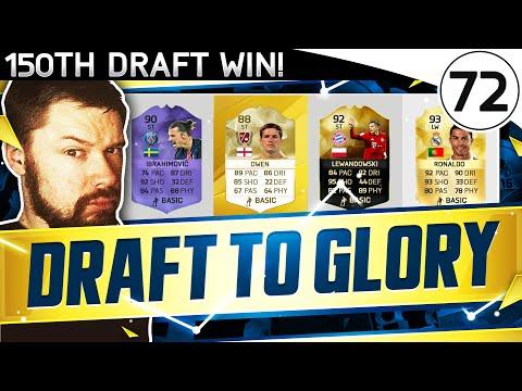 150 DRAFT WINS!!! FUT DRAFT TO GLORY #72 - FIFA 16 Ultimate Team Gameplay