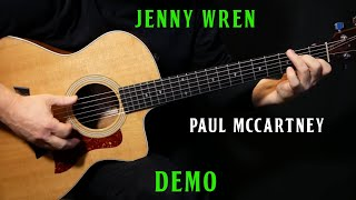"how to play ""Jenny Wren"" on guitar by Paul McCartney 
