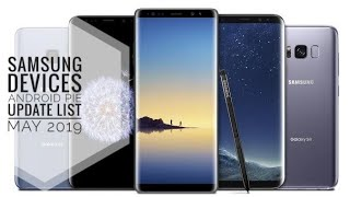 Samsung devices android pie 9.0 update list   samsung one ui   May 2019   j7 pro, j7 max, j4+, m30