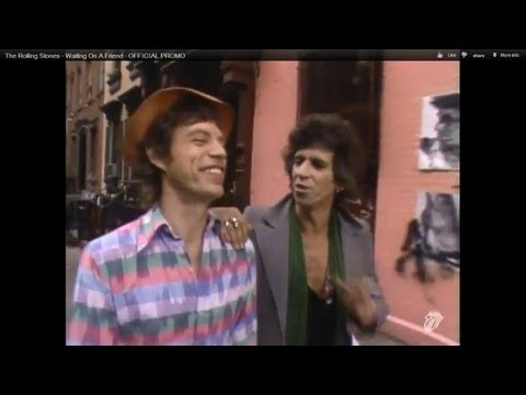 The Rolling Stones - Waiting On A Friend - OFFICIAL PROMO
