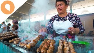 THE BEST UZBEK STREET EATS ALL IN ONE ROOF!