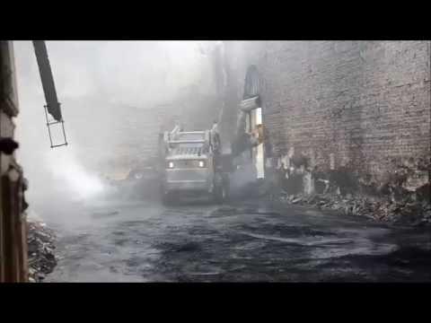 Incêndio na Estação Ferroviária (Vídeo II)