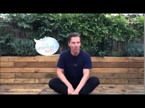 Ice bucket challenge by sherlock holmes aka Benedict Cumberbatch
