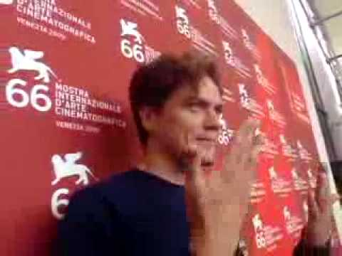 Michael Shannon at the Venice Film Festival with the Journalists