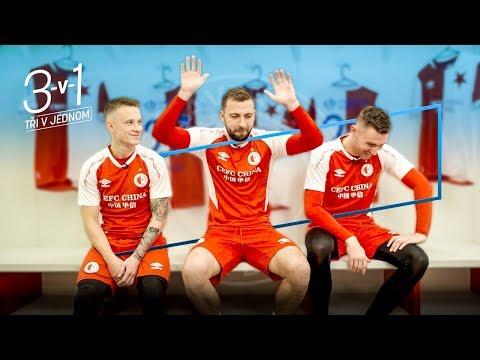 Slavia 3v1: Honzu Sýkoru, Pepu Hušbauera a Járu Zmrhala zpovídal překvapivý redaktor