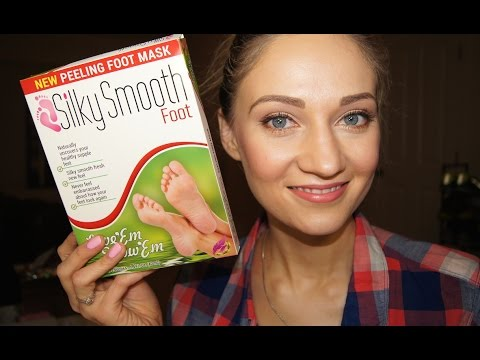 Silky Smooth Foot Peeling Mask Review (Compare to Baby Foot)