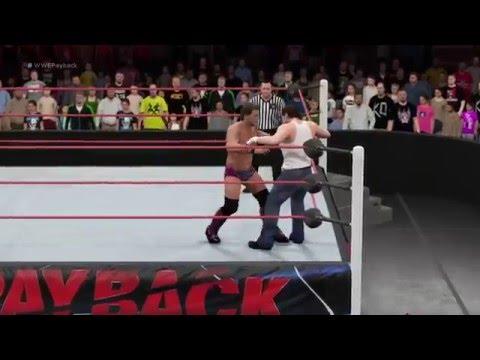WWE 2K16 CPU Vs. CPU - Dean Ambrose Vs. Chris Jericho