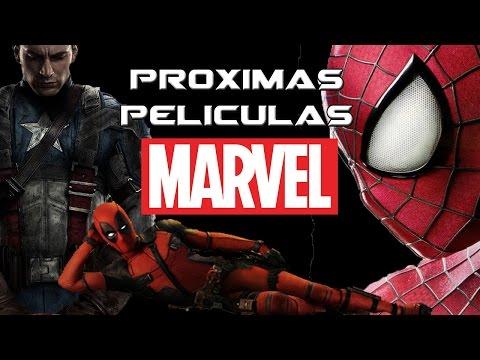 Proximas Peliculas Marvel 2016-2019