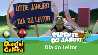 Repente do Jabuti - Dia do Leitor - 07/01/2016