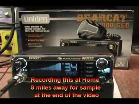 Uniden BC-980 SSB Tune-up Report