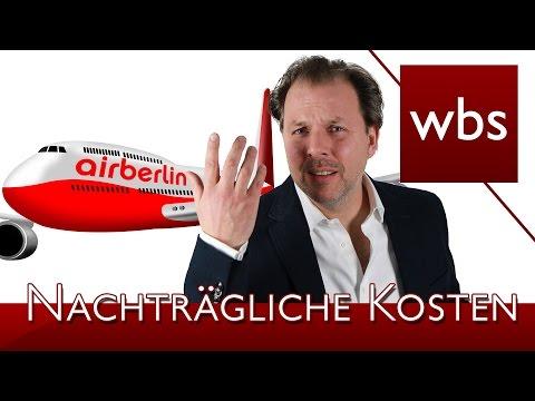 LG Berlin – Preisanpassungsklausel von Air Berlin unwirksam   Rechtsanwalt Christian Solmecke