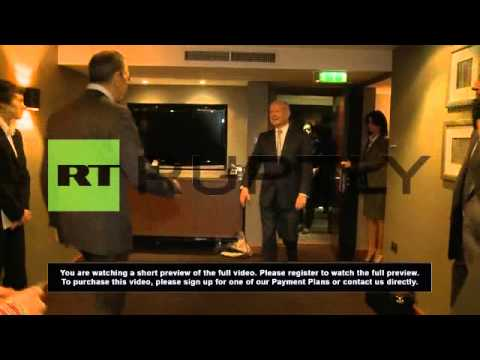 United Kingdom: Lavrov meets Hague ahead of Crimea referendum