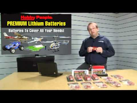 Hobby People LI-PO Batteries