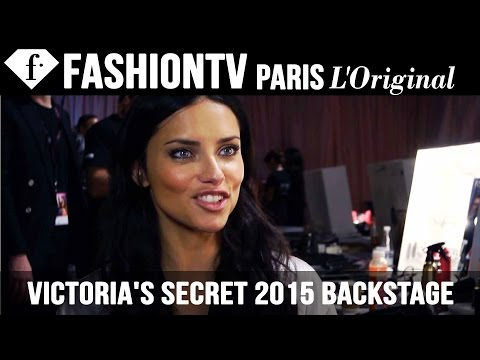 Victoria's Secret Fashion Show 2014-2015 Backstage Interviews With The Angels | Fashiontv video