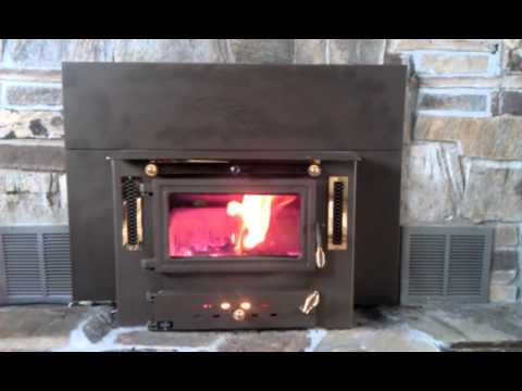 Hitzer 983 Coal Burning Fireplace Insert Youtube