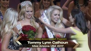 Tommy Lynn Calhoun is crowned Miss Arizona USA 2017!