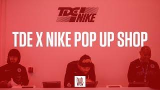 Tour of the Nike x TDE Pop Up Shop