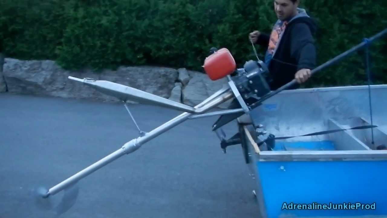 Lawn Boy Lawnmower Boat Engine Mud Motor Aka Lake Boy