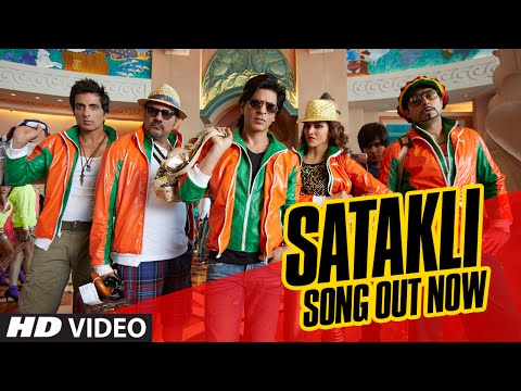Official SATAKLI Video Song | Happy New Year | Shah Rukh Khan | Sukhwinder Singh