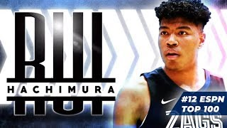 Rui Hachimura is a physical specimen with a shredded frame | 2019 NBA Draft Scouting Report