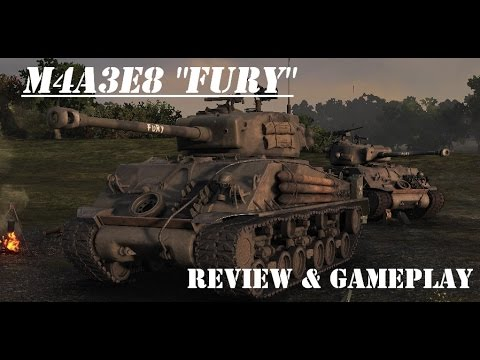 M4a3e8 Sherman Tank M4a3e8 Sherman Fury Review