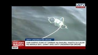 Sari-saring dumi at basura, nakita sa ilalim ng Manila Bay gamit ang UNTV Underwater Drone