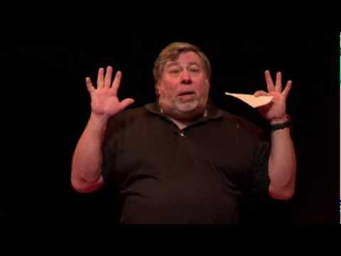 Techology and social revolution: Steve Wozniak at TEDxBrussels