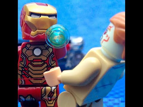 Lego Iron Man vs Aldrich Killian