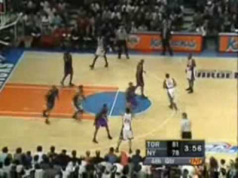 2001 NBA Playoffs: Toronto Raptors @ New York Knicks Game 5 4th Quarter Part 2