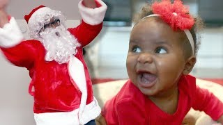 Interview With a 7-Month-Old and Santa Claus