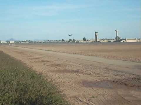 F-16 takeoff at Luke AFB Video