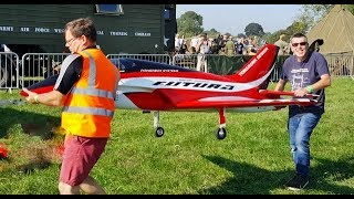 VICTORY SHOW COSBY UK - GAS TURBINE RC MODEL SPORTS JET DISPLAY (REAL JET ENGINE) - 2018