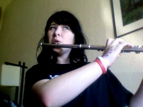 The Pokémon theme song on flute :D