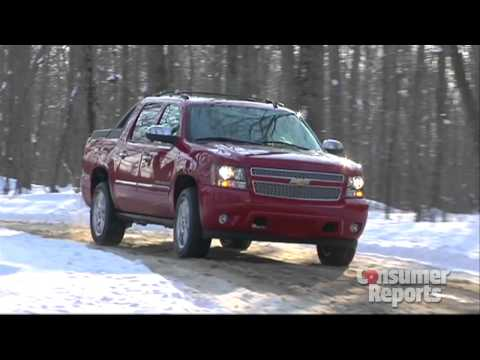 Chevrolet Avalanche: Consumer Reports 2012 Top Pick Pickup Truck