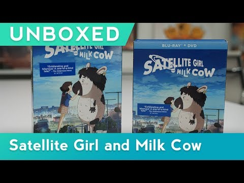 GKIDS UNBOXED | Satellite Girl And Milk Cow | BLU-RAY™ + DVD UNBOXING