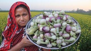 Farm Fresh Onion Pakoda Recipe Delicious Quick Snacks Crispy Onion Pakora Bengali Style Onion Piyazi
