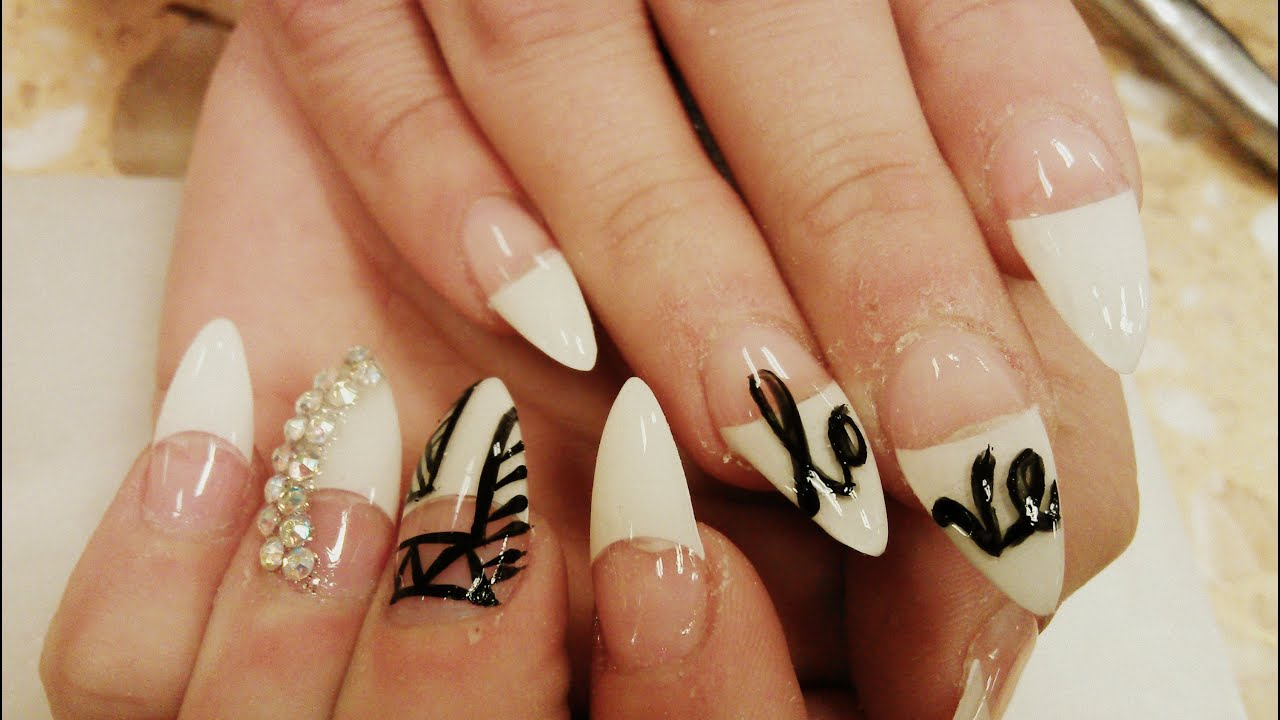 p2 How to Stiletto Nails