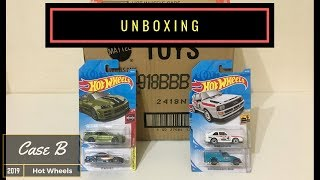 Unboxing - Hot Wheels Case B 2019