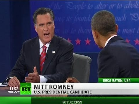 Syria, Iran & US military dominance: Obama, Romney's foreign policy debate