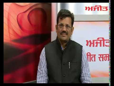Interview of Sh. Kamal Sharma (President BJP, Punjab) with Daily Ajit - Part 2