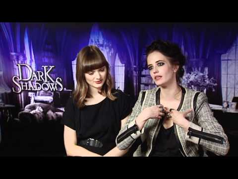 Eva Green And Bella Heathcote Interview -- Dark Shadows