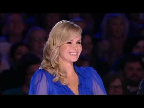 Xmas Special: Amanda Holden in stunning blouse on Britains Got Talent