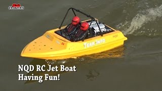 Jet boats NDQ Tear into Toy grade RC JetBoat racing