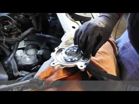 How to Install a Water Pump: 2011-06 Chevy Impala LS. LT. LTZ 3.5L. 3.9L V6 WP-2061  AW6020