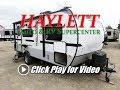 HaylettRV - 2018 Rockwood 19FBS Geo Pro Solar Equipped Ultralite Mini Travel Trailer