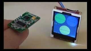 Application Cubloc CB210 (Accéleromètre 3 axes)